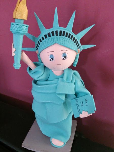 Fofucha statue of liberty