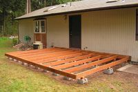 How to Build a Wooden Deck on the Ground (6 Steps) | eHow
