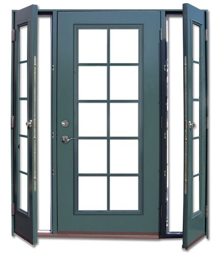 Patio Door With Sidelites Vented: Home Design Ideas