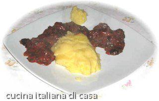 spezzatino di cervo in marinata bianca ricetta di cucina italiana di casa