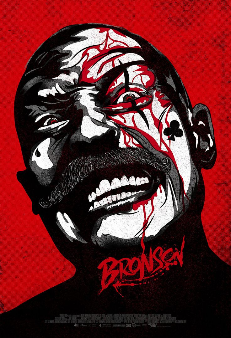 Bronson Alternate Poster featuring Tom Hardy.