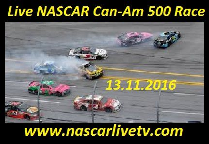 Live NASCAR Can-Am 500 Race