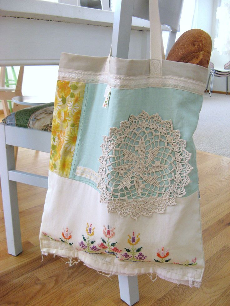 I love dottie angel and her lovely granny chic sewn bags. Nx