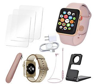 Apple Watch 38mm Sport Series 3 Cellular with Accessories