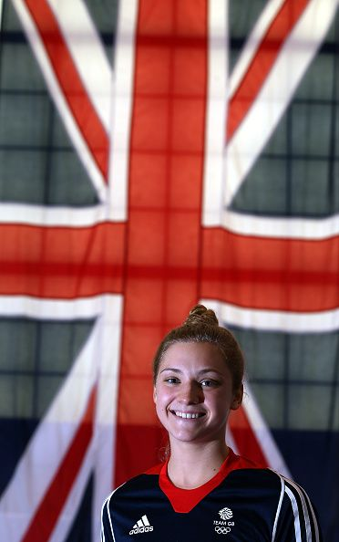 #RIO2016 Alicia Bragg of Britain poses for a picture as the Team GB diving team is announced for the Rio 2016 Olympic Games at the John Charles Centre on June...