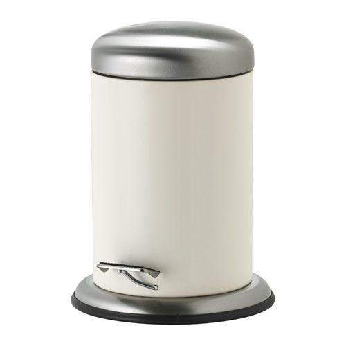 MJÖSA Pedal bin IKEA The bin is easy to move since it has a handle on the back. Easy to empty and clean as the inner bucket can be removed.