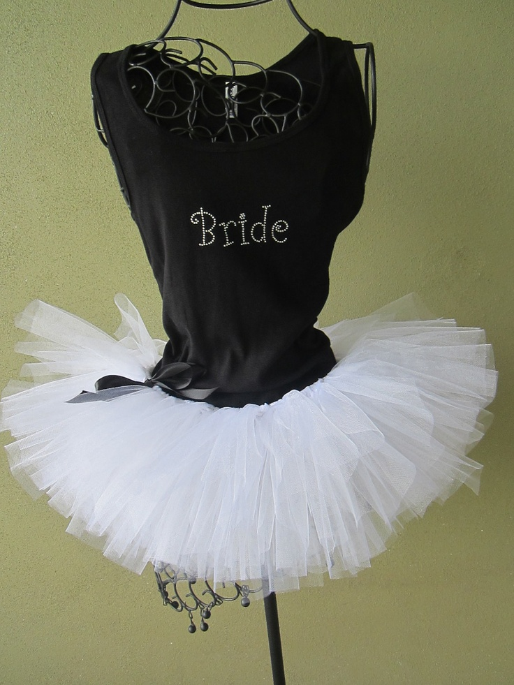 I am doing this when I get married!!! Tutu Bachelorette Party Adult Custom