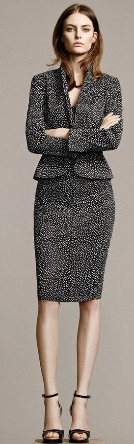 Nina Ricci Grey Suit NYCFW RTW 2015