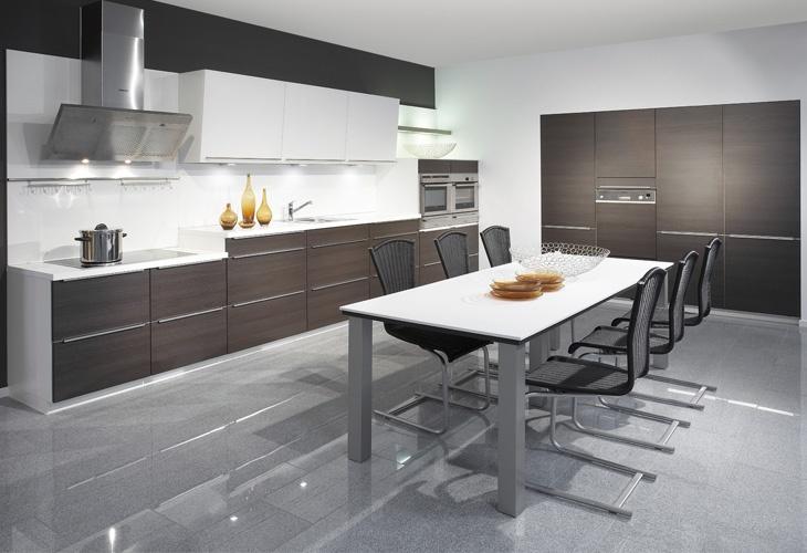 ber ideen zu dunkle holzk chen auf pinterest. Black Bedroom Furniture Sets. Home Design Ideas