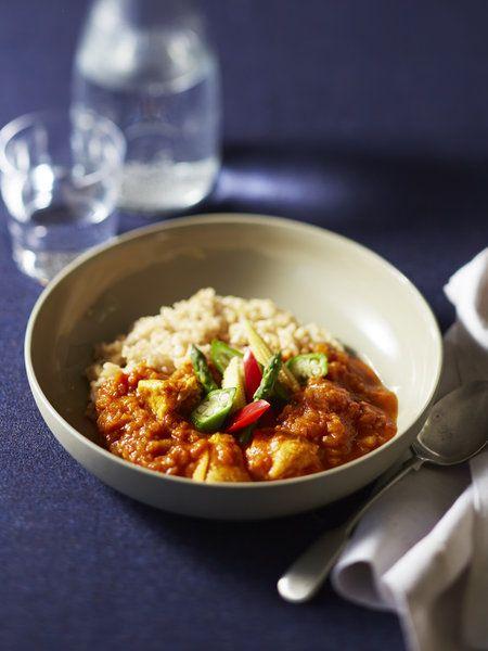 Recipe : Gluten-Free Chicken Tomato Curry/グルテンフリーのトマトカレー