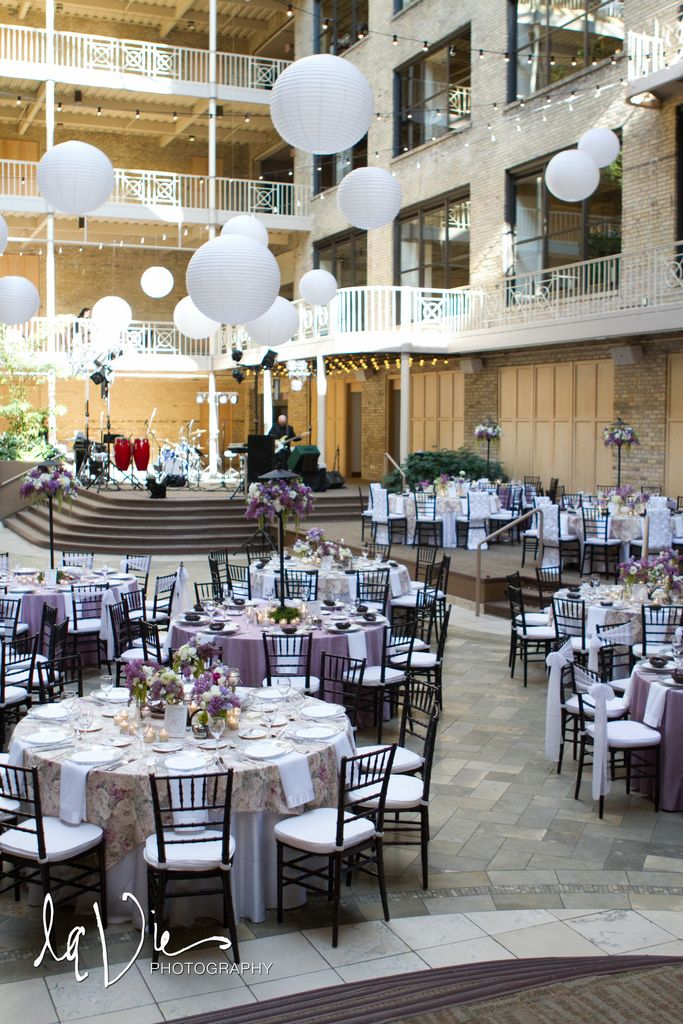 International Market Square Wedding Reception