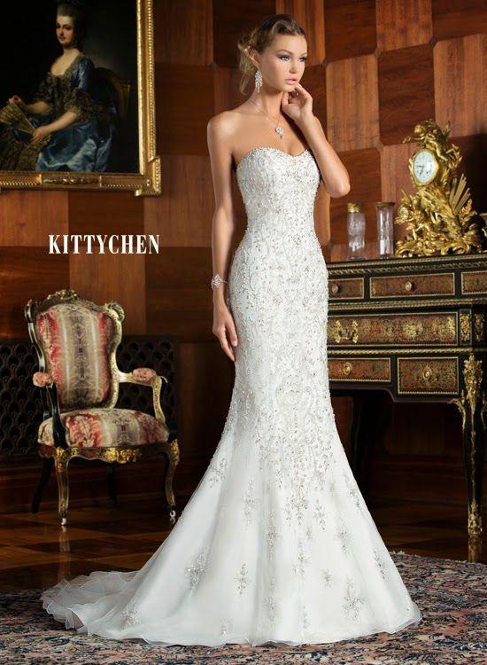 Fenomenales vestidos de novia 2015