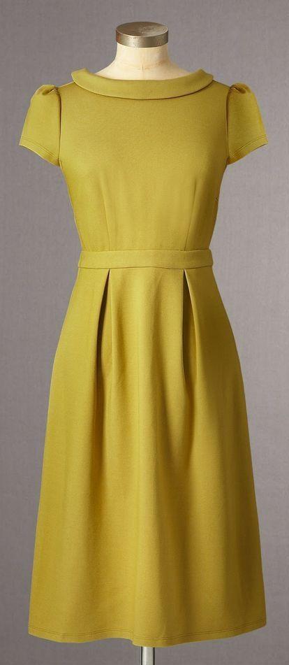 Boden | Vintage Ponte Dress