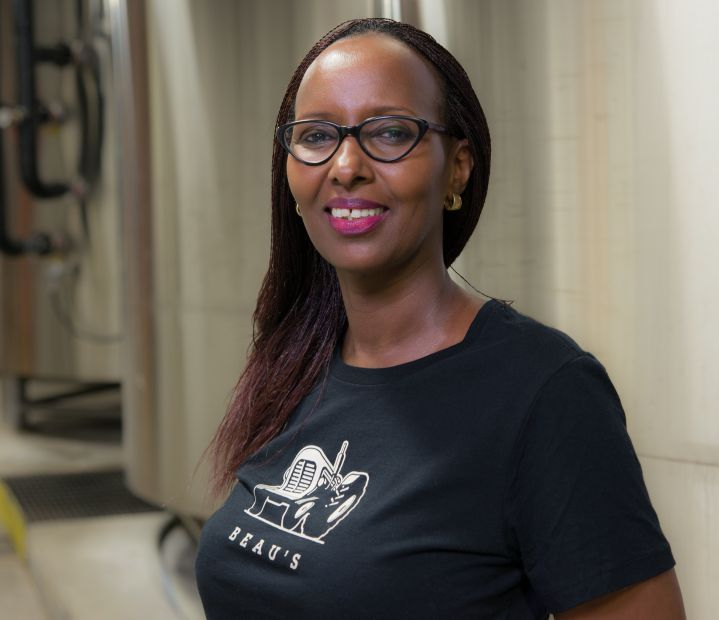 Never afraid of a challenge, this quinquagenarian is launching Rwanda's first micro-brewery, 100% women-owned and operated.
