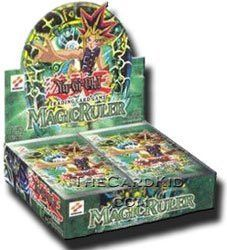 Yugioh Card Game - Magic Ruler 1ST EDITION Booster Box - 24P9C