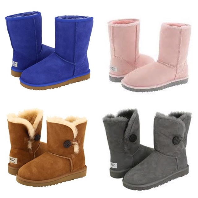 different ugg boots