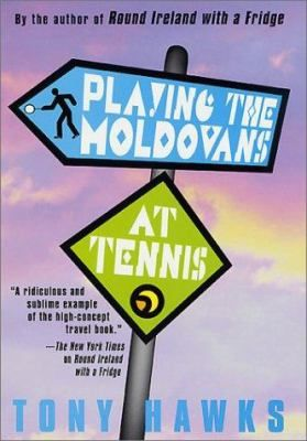 """It doesn't take much - """"100 is usually sufficient"""" - to persuade Tony Hawks to take off on notoriously bizarre and hilarious adventures in response to a bet. And so it is, a pointless argument with a friend concludes in a bet - that Tony can't beat all eleven members of the Moldovan soccer team at tennis."""