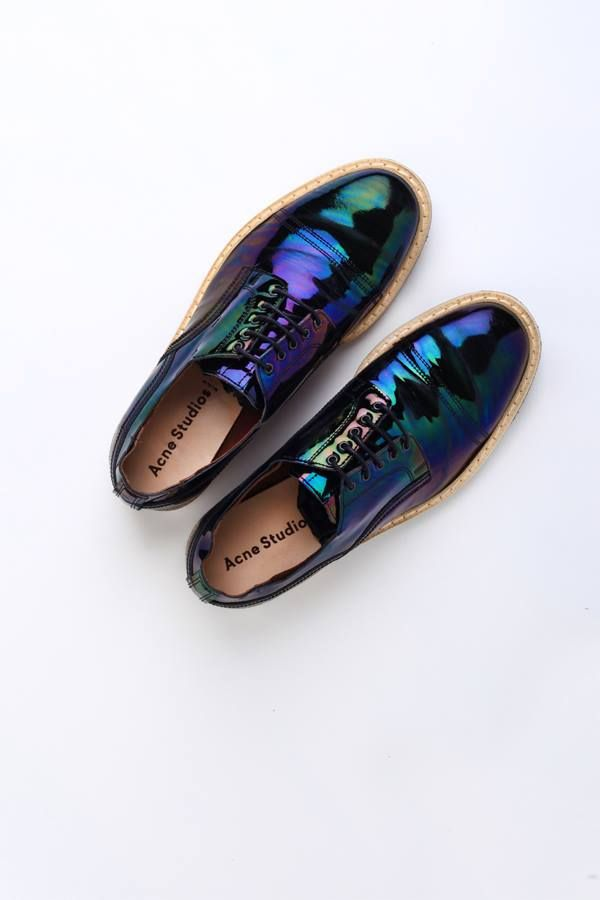 Acne shoes.