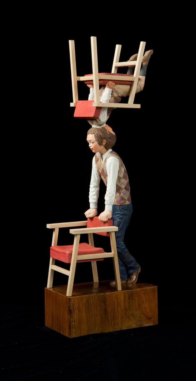 Surrealistische houten beelden van Yoshitoshi Kanemaki « EYEspired
