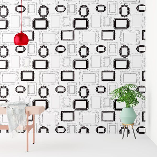 They Say Wallpaper Is Having A Comeback And With Patterns Like These It S No Wonder Why Printed On Non Wallpaper Roll Brick Wallpaper Roll Framed Wallpaper