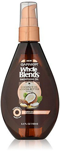 Whole Blends Coconut Oil & Cocoa Butter Smoothing Oil #Garnier