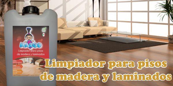 Limpiador para pisos de Madera y Laminados MARGO. Presentación de 20 litros. Es la mejor solución para limpiar y cuidar cualquier tipo de piso de madera y laminado.