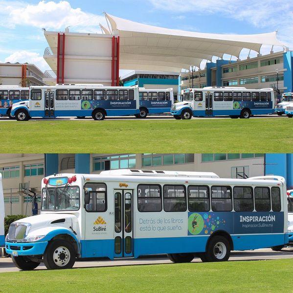 Transporte escolar SuBiBus