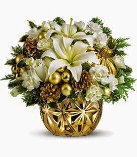 Pátio das Flores: Arranjos de Natal