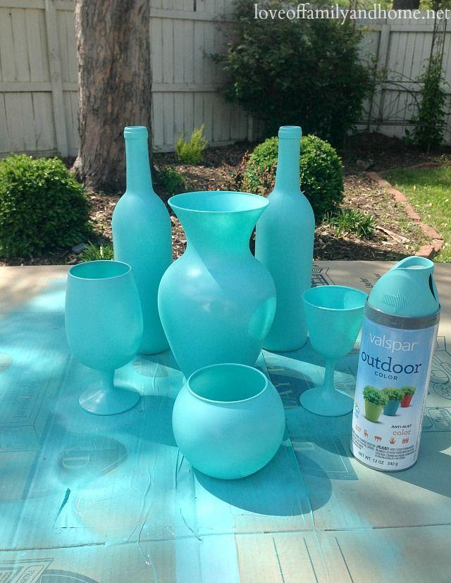 1000 Ideas About Spray Paint Vases On Pinterest Spray