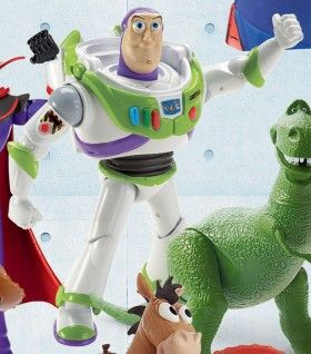 Toy Story Poseable Figure - Buzz Lightyear