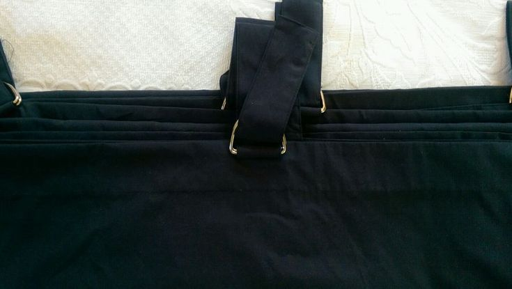 Nautica Navy Curtain Panels~Tabs/D-Rings #Nautica