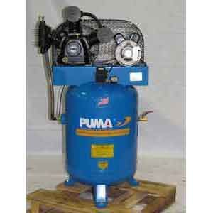 Puma Industries Electric Belt Drive Two Stage Air Compressor (TE3040V)