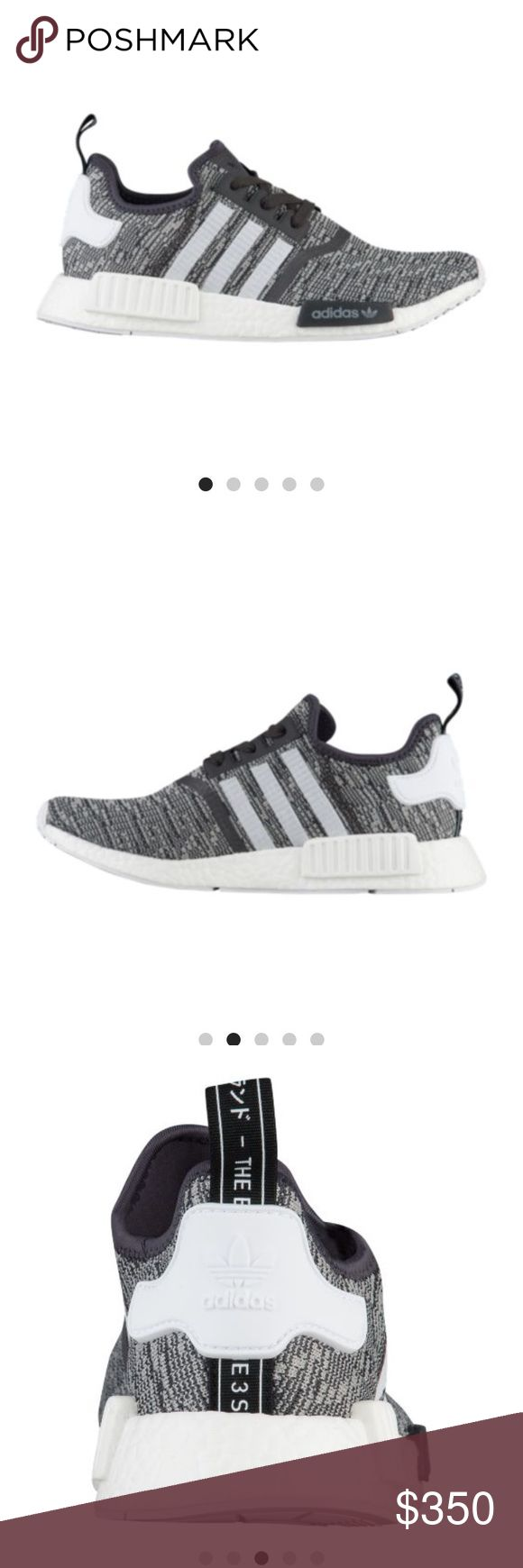 Adidas NMD sneakers women's size 5.5 Brand new released last week women's Adidas NMD sneakers size 5.5. I usually wear a size 6 but was advised to go half a size down. The 5.5 is the perfect fit. These are super lightweight and super stylish. Adidas Shoes