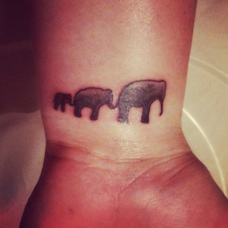 just get a mommy and baby elephant tattoo for my mom and me perfect tattoo 39 s pinterest. Black Bedroom Furniture Sets. Home Design Ideas