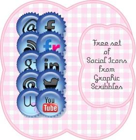 Nuovissime icone sociali free download