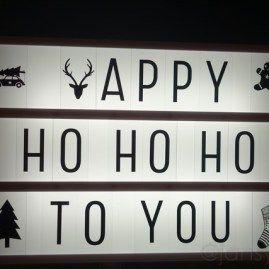 Lightbox - Happy Ho Ho Ho To You - A Little Lovely Company