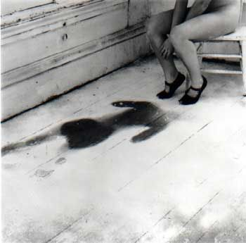 Francesca Woodman. One our girls (has gone missing), 1979.