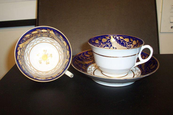 part of Georgian era tea set. Pattern No 1976