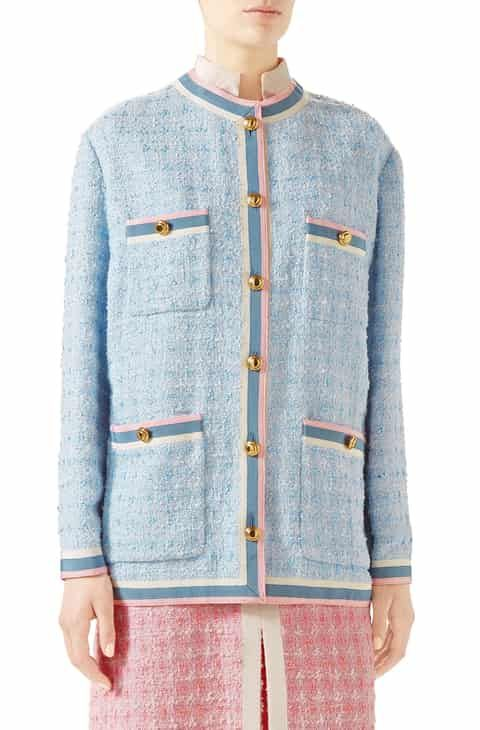62aca73dc436 Gucci Tweed Jacket Top Reviews in 2019 | Women Clothing | Tweed ...