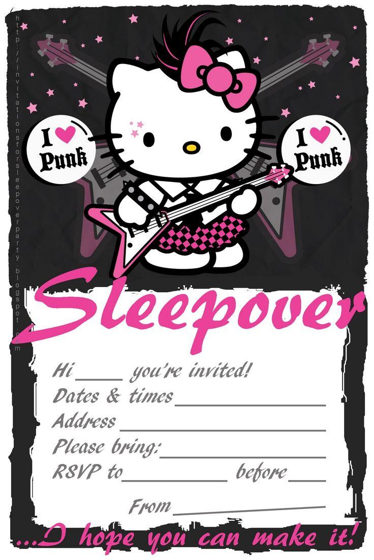 sleepover invitations INVITATIONS
