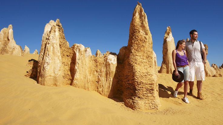 Pinnacles Desert in Cervantes, WA