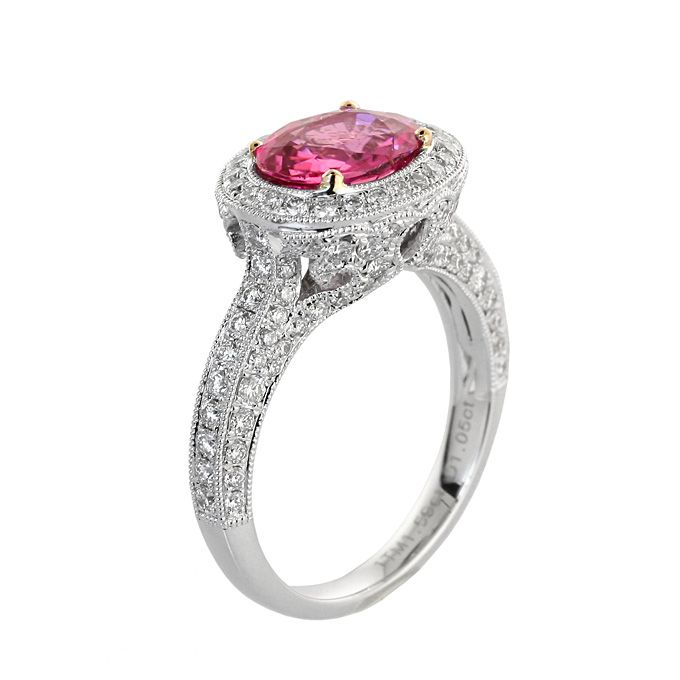 1000 images about Pink Engagement Rings on Pinterest