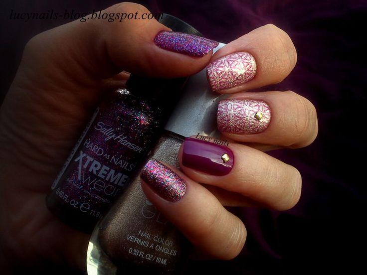 Satin Glam 01 Go Gold i Xtreme Wear 140 Rockstar Pink