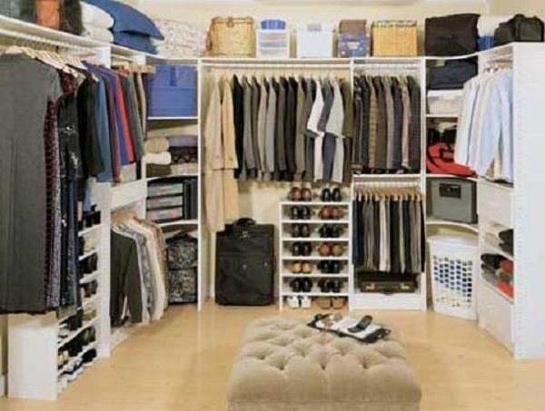 Pinterest - Walk in closet organizer ideas ...