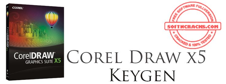 Corel Draw x5 Keygen + Crack Serial Number For All Products