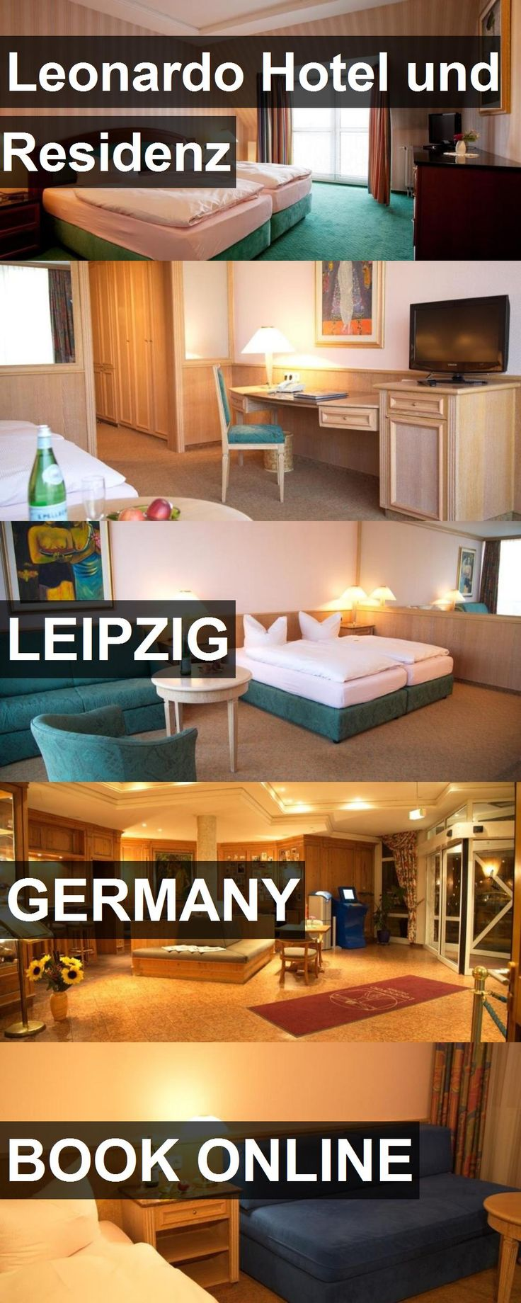 Hotel Leonardo Hotel und Residenz in Leipzig, Germany. For more information, photos, reviews and best prices please follow the link. #Germany #Leipzig #LeonardoHotelundResidenz #hotel #travel #vacation