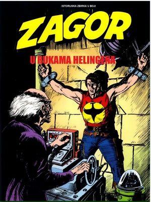 Zagor - U rukama Helingena - Povratak u Darkvud ( Ceo strip u boji )