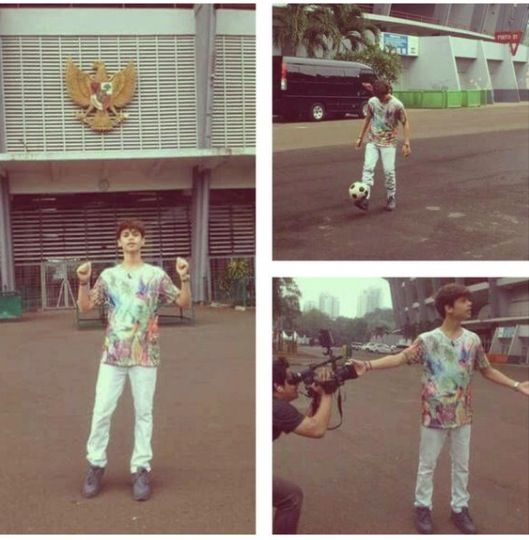 In Indonesia #HarrisJ