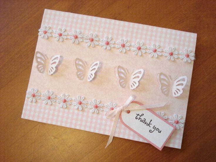 39.ちょうちょのポップアップパンチで簡単手作りカード♪ | 簡単手作りカード                                             Chocolate Card Factory