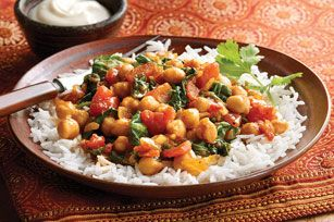 vegetarian-curry-spinach-tomato-chick-peas-179059 Image 1